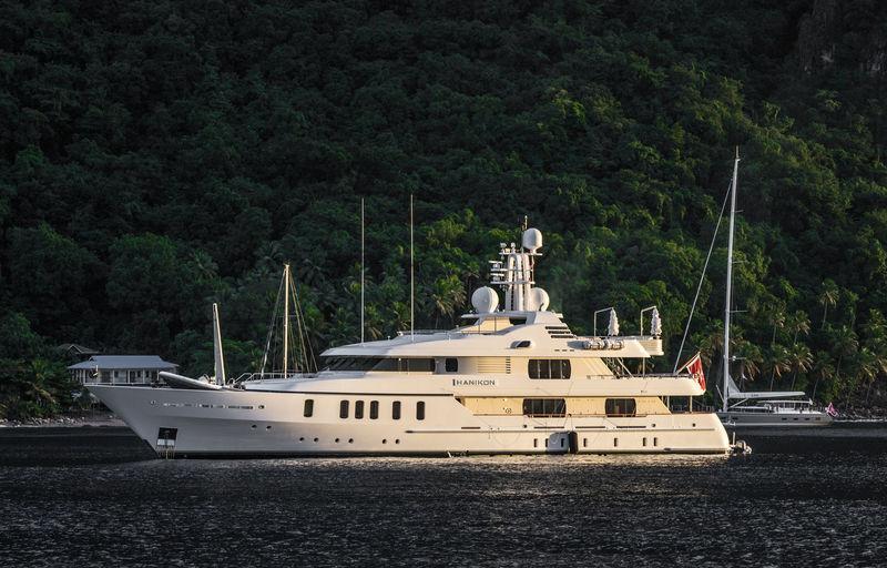Superyacht Hanikon in St Lucia