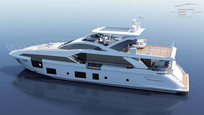 AZIMUT GRANDE 27/19 yacht Azimut