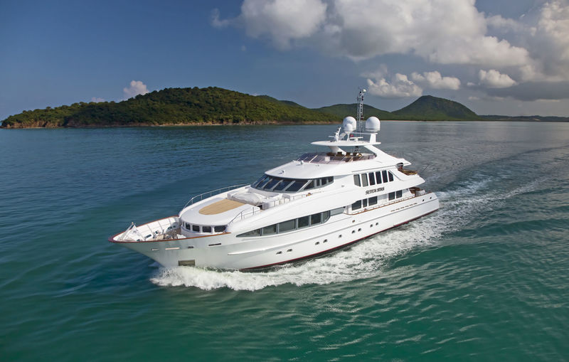 THE LADY K yacht Heesen