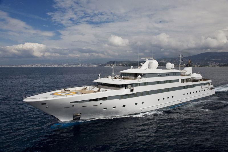 LAUREN L yacht Cassens-Werft