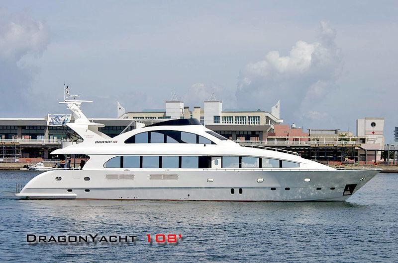 DRAGON 108 yacht Dragon Yacht Build