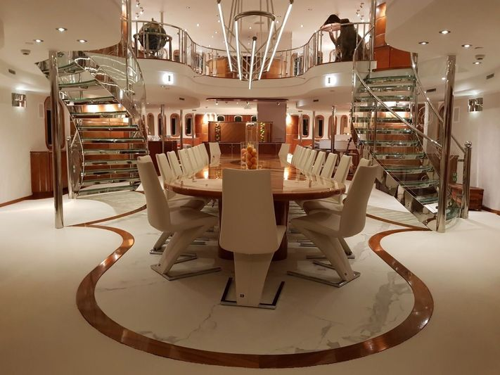 Sherakhan dining room