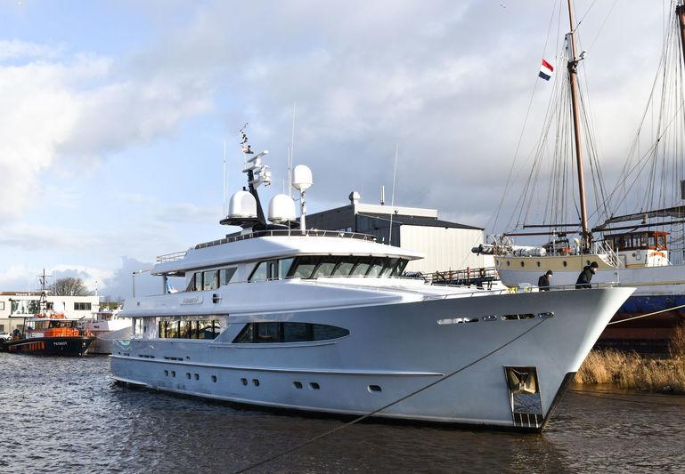 AlumerciA arrives at Balk Shipyard