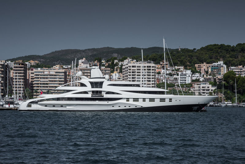 PALLADIUM yacht Blohm & Voss