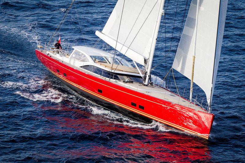 Doryan sailing