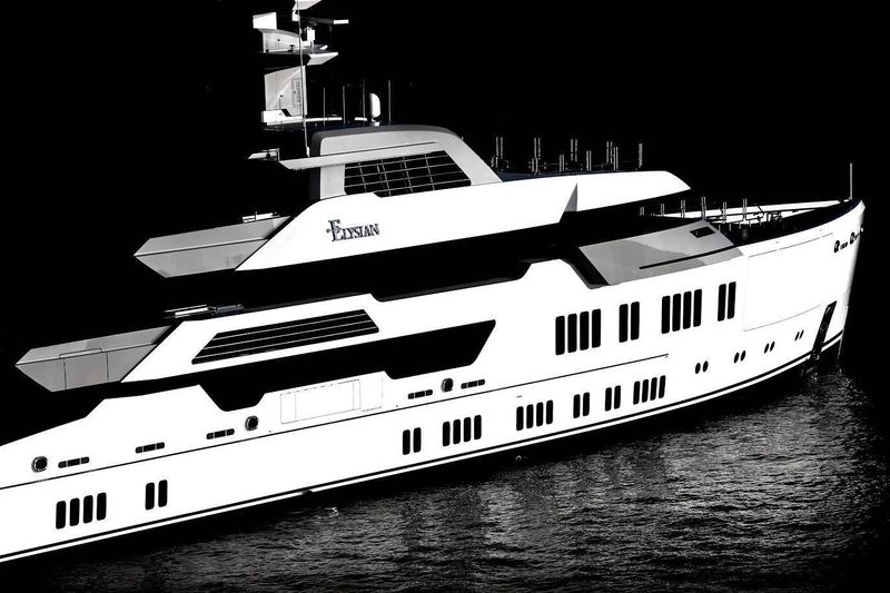 Superyacht Elysian in Miami