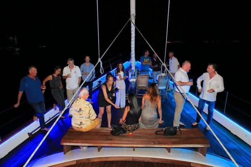 ASR cup opening event on board La Numero Uno
