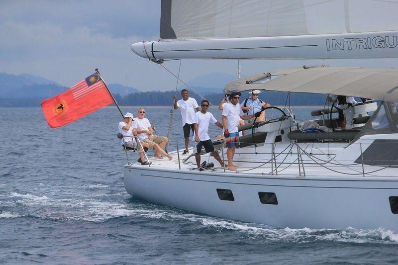 25m sailing yacht intrigue at ASR 2018
