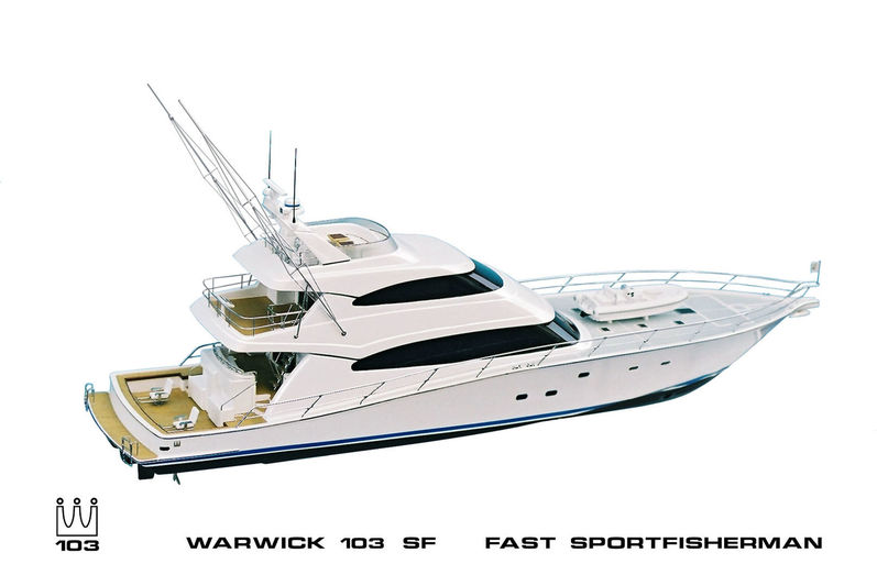 Yachting Developments Hull 1017 model