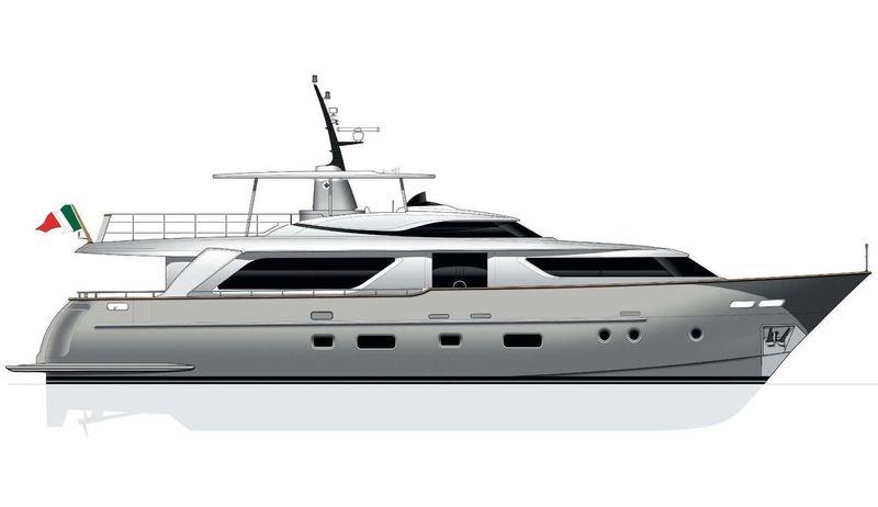 FLOR yacht Sanlorenzo