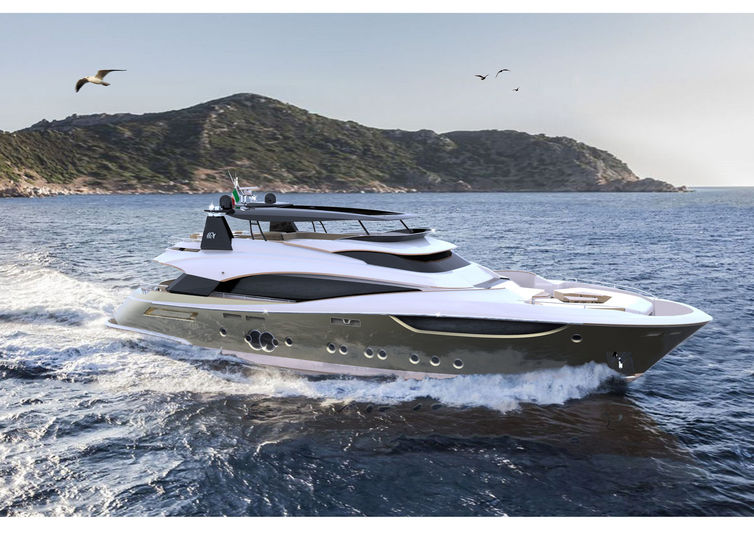 MCY 105/07 yacht Monte Carlo