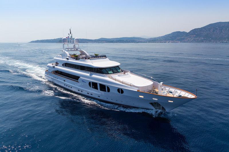 Bina cruising in the Mediterranean