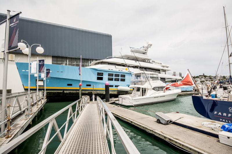 CHIRUNDOS yacht McMullen & Wing