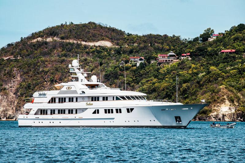 Callisto Arriving in St Lucia
