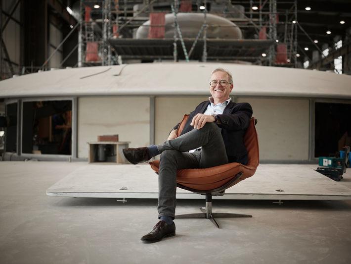 Henk de Vries of Feadship