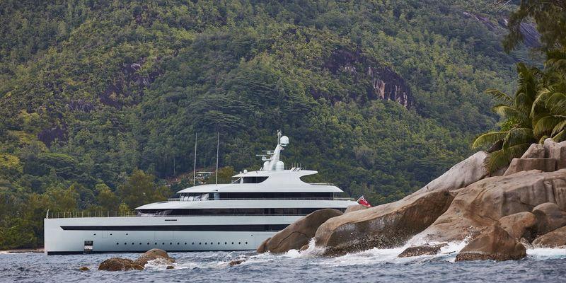 Savannah in the Seychelles