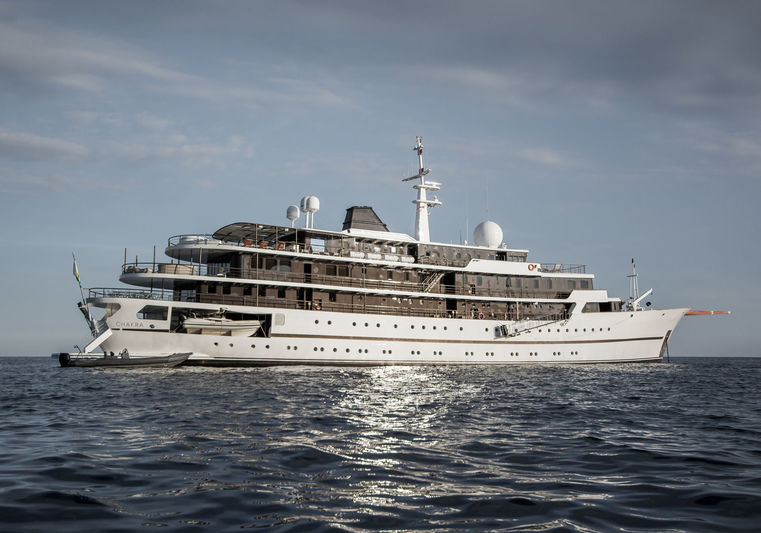 Chakra anchored off Monaco