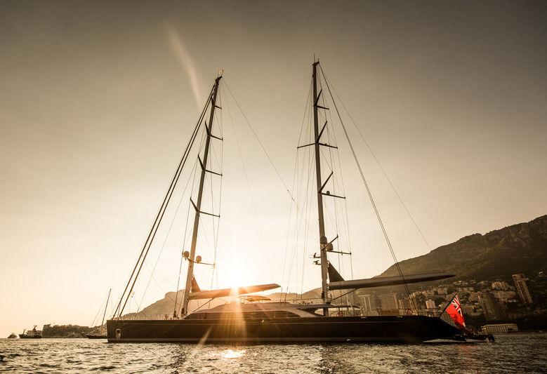 Sybaris ancré au large de Monaco