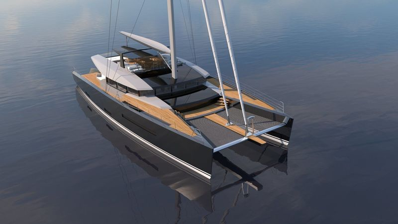 Rendering of Ruiying Yacht 110 project