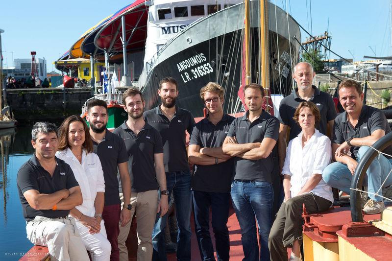 Berret Racoupeau Yacht Design team