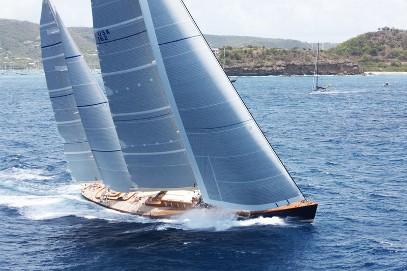 Sailing yacht Rebecca at Superyacht Challenge Antigua