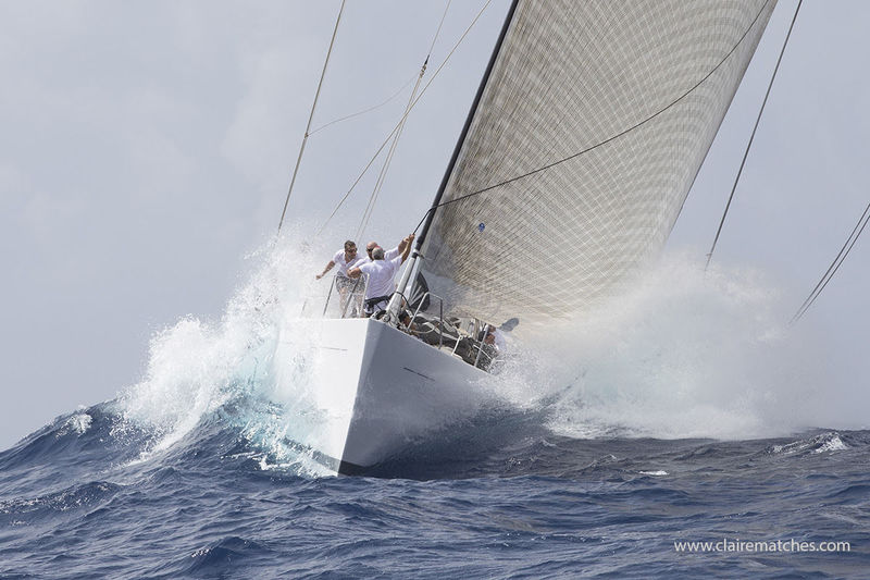 Spiip competing at Superyacht Challenge Antigua