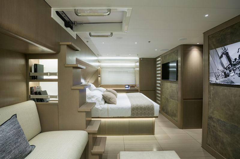 Sailing Yacht Lot99 owner's cabin