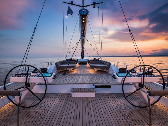 Sailing Yacht Lot99 main aft deck