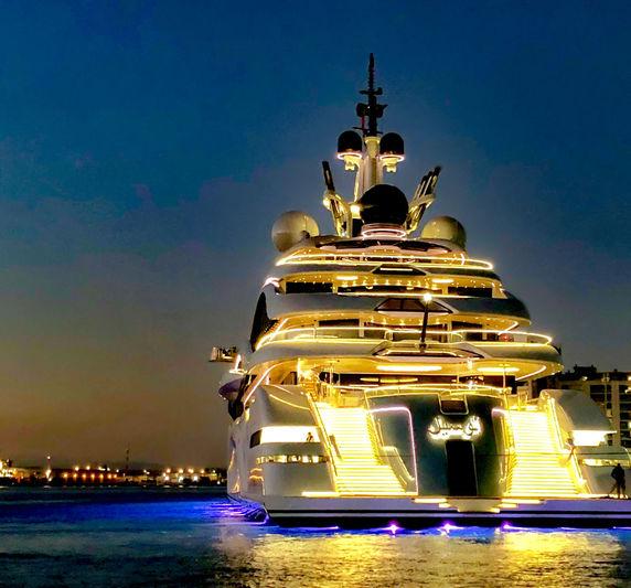 Al Lusail anchored