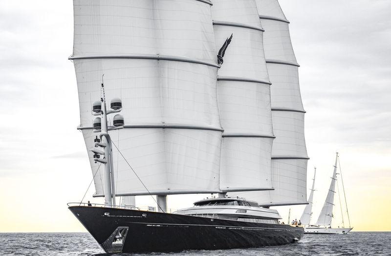Maltese Falcon anchored