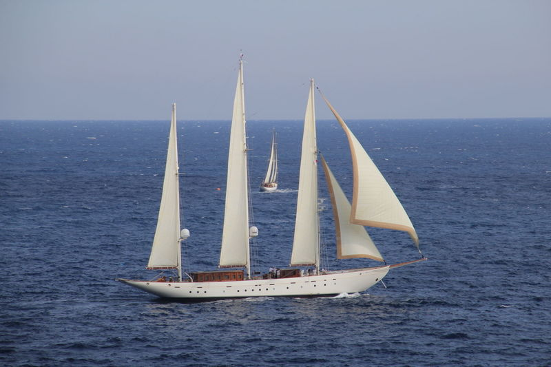 Xarifa sailing off Monaco