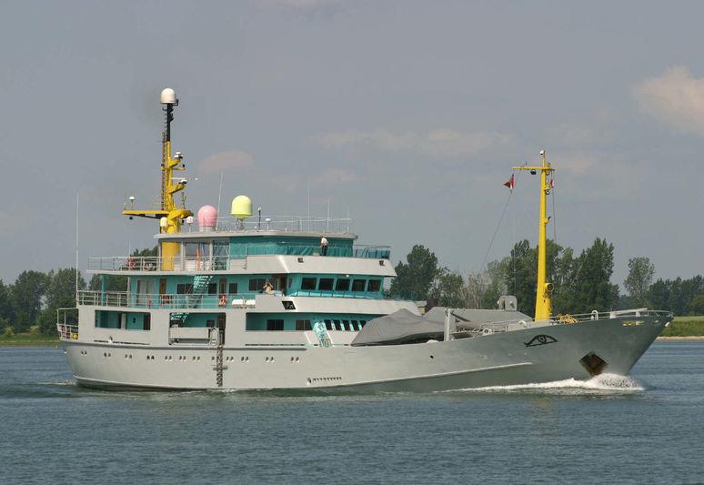 MY BROTHER BRANCUSI yacht Cantieri Navali ed Officine Meccaniche di Venezia (CNOMV)