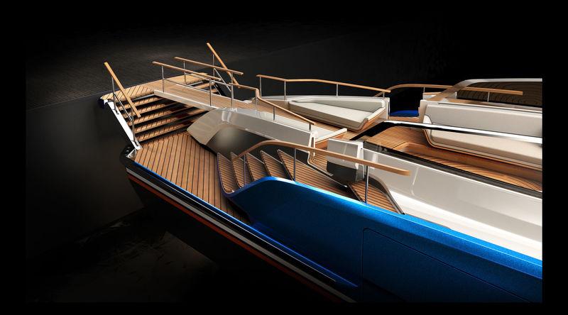 Aeroboat S6 exterior design