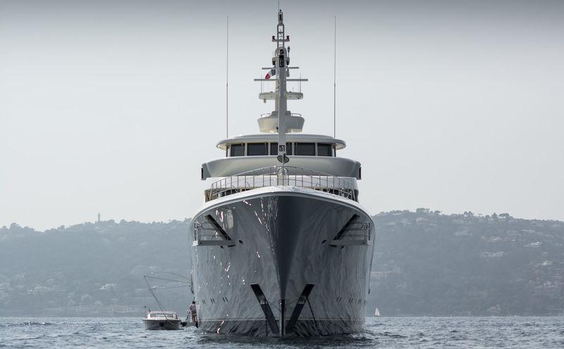 Ecstasea anchored off Cannes
