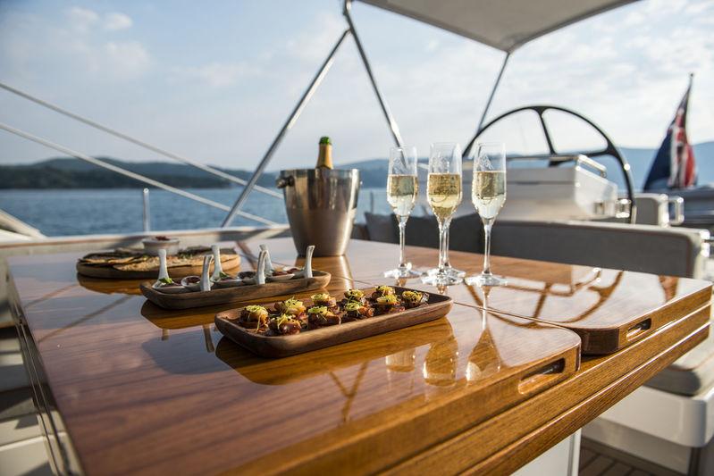 Firebird upper deck dining
