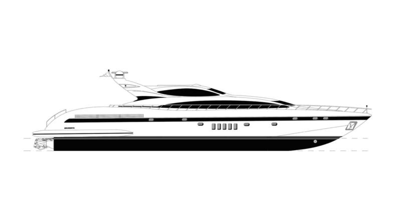 DELMONA yacht Overmarine