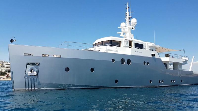 35m Ceylan superyacht by Tansu Yachts