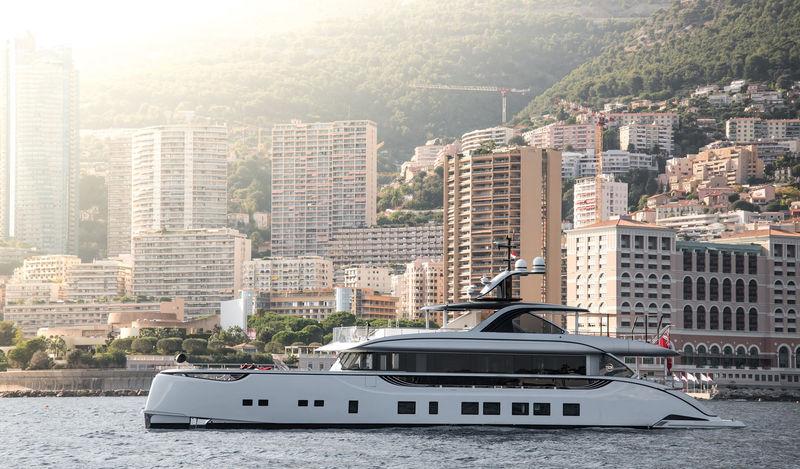 Jetsetter anchored off Monaco
