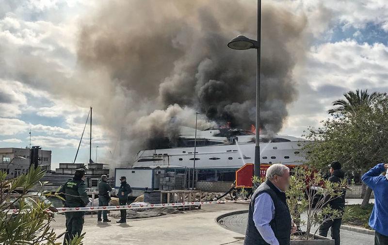 Ordisi fire in Alicante