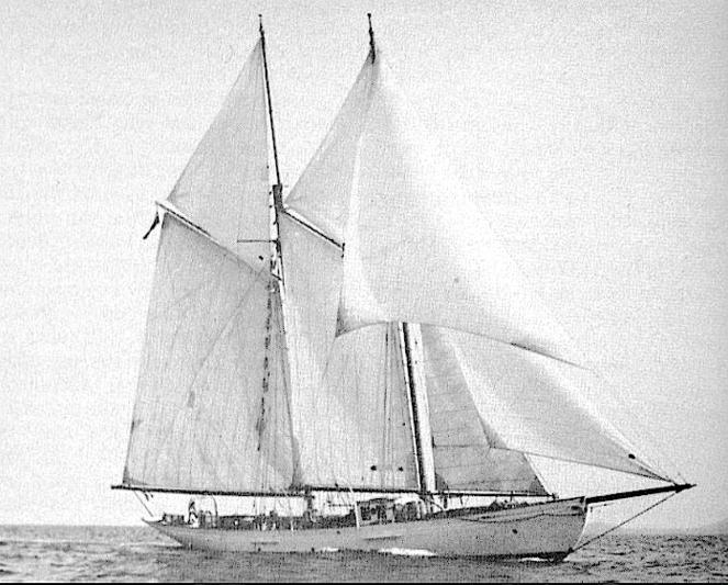 Dwyn Wen sailing