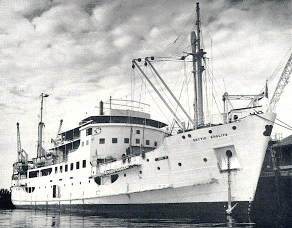 Seyyid Khalifa anchored