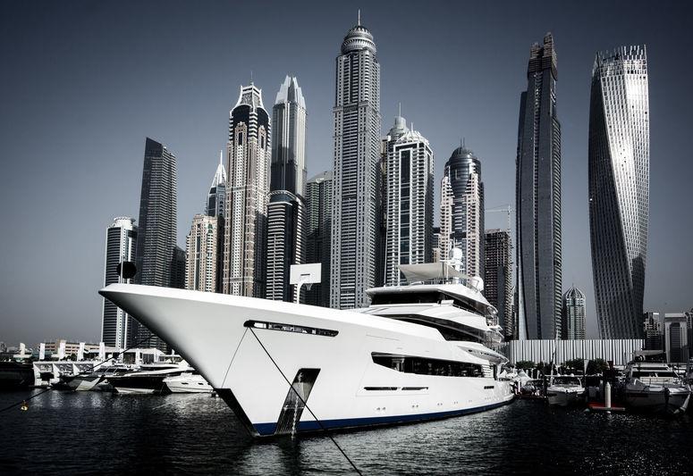 Joy at the Dubai Boat Show 2017