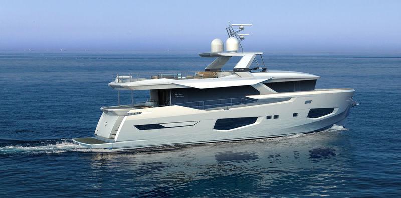 Numarine 26XP exterior design