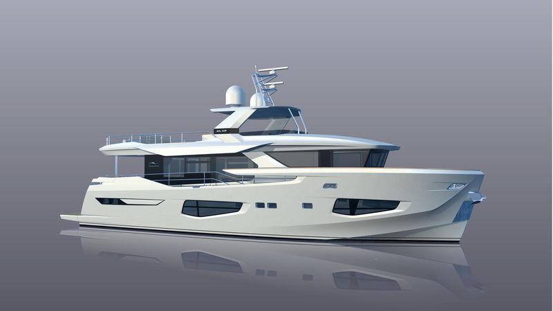 GET LUCKY yacht Numarine