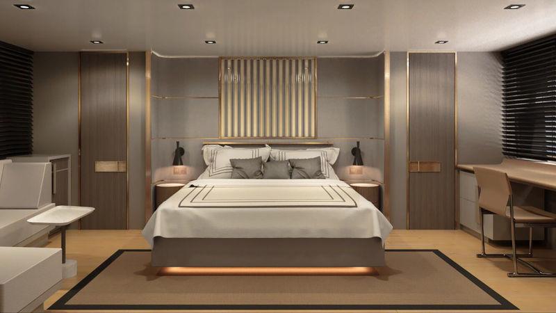Numarine 26XP interior design