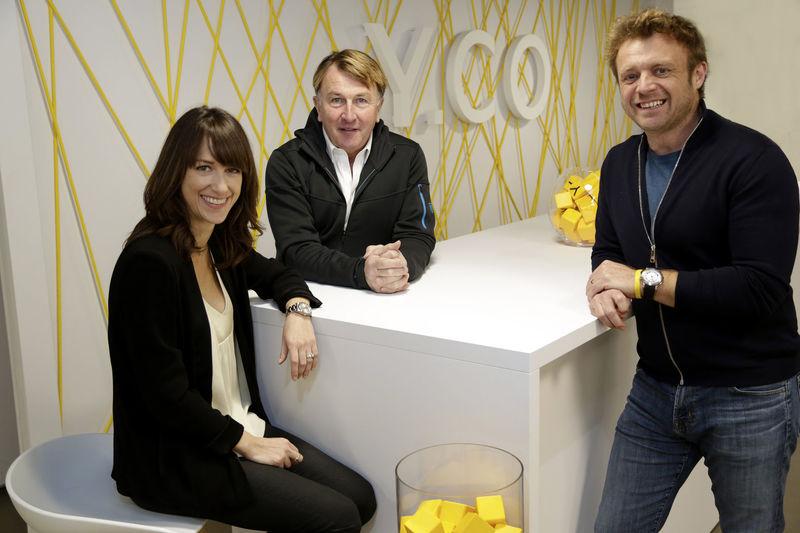 Charlie Birkett, Holly Bottau, Gary Wright Y.CO portrait photo