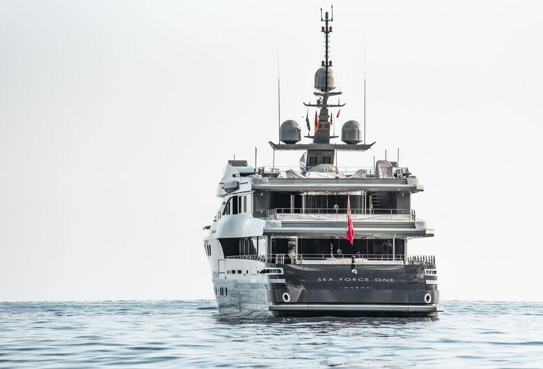 Sea Force One anchored off Monaco