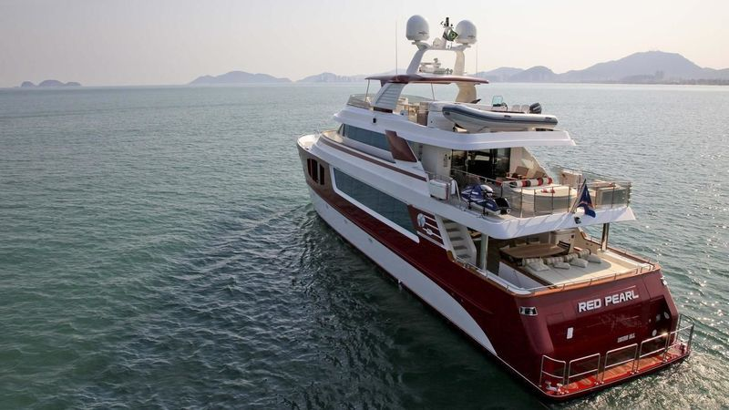 Red Pearl Motor Yacht