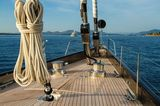 Pink Gin VI foredeck