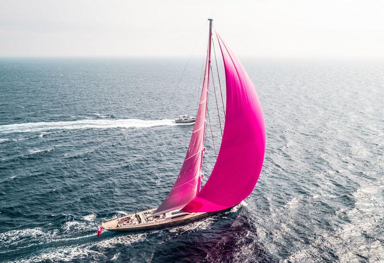 Pink Gin VI cruising